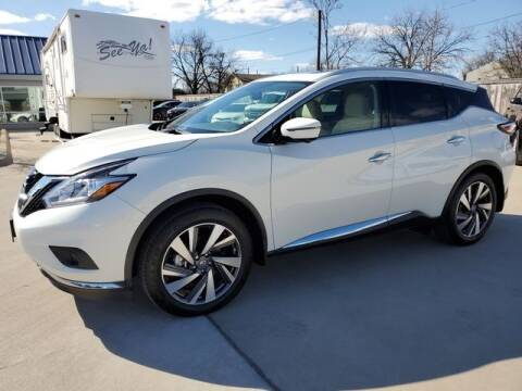 2018 Nissan Murano for sale at Kell Auto Sales, Inc - Grace Street in Wichita Falls TX