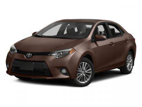 2015 Toyota Corolla for sale at HILAND TOYOTA in Moline IL