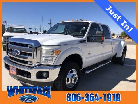2011 Ford F-350 Super Duty for sale at Whiteface Ford in Hereford TX