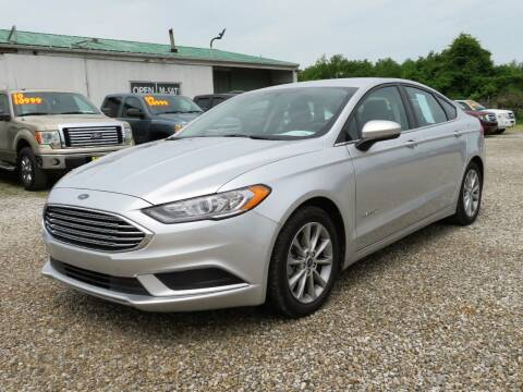 2017 Ford Fusion Hybrid for sale at Low Cost Cars in Circleville OH