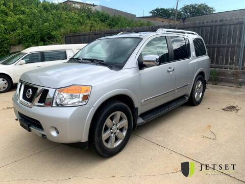 2014 Nissan Armada for sale at Jetset Automotive - Wholesale Center in Cedar Rapids IA
