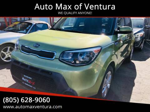 2015 Kia Soul for sale at Auto Max of Ventura in Ventura CA