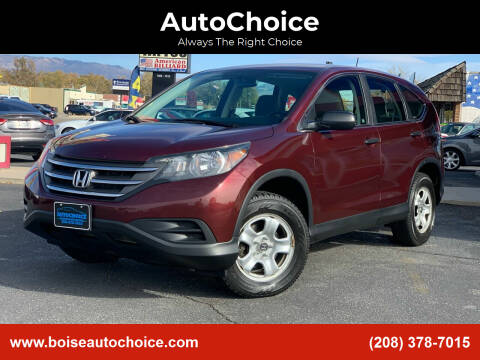 2012 Honda CR-V for sale at AutoChoice in Boise ID
