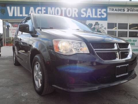 2012 Dodge Grand Caravan for sale at Village Motor Sales in Buffalo NY