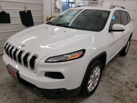 2015 Jeep Cherokee for sale at Jem Auto Sales in Anoka MN