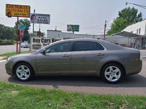 2012 Chevrolet Malibu for sale at Cherokee Auto Sales in Knoxville TN