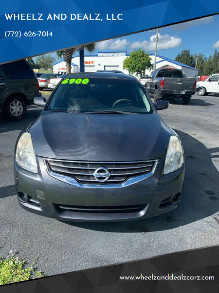 2011 Nissan Altima for sale at WHEELZ AND DEALZ, LLC in Fort Pierce FL