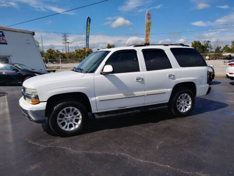 2004 Chevrolet Tahoe for sale at Big Boys Auto Sales in Russellville KY