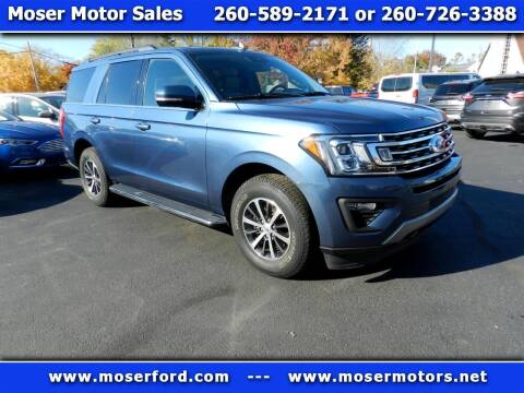 2019 Ford Expedition for sale at Moser Motors Of Portland in Portland IN