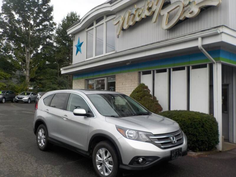 2014 Honda CR-V for sale at Nicky D's in Easthampton MA