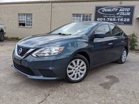 2017 Nissan Sentra for sale at Quality Auto of Collins in Collins MS