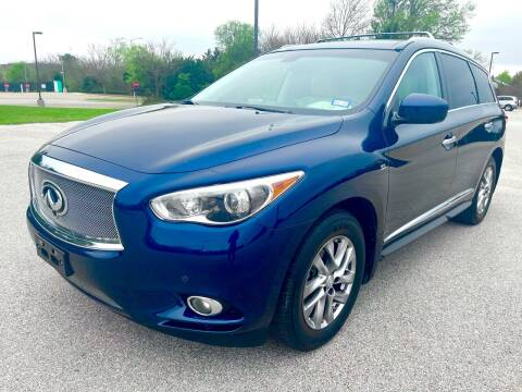 2015 Infiniti QX60 for sale at Central Motor Company in Austin TX