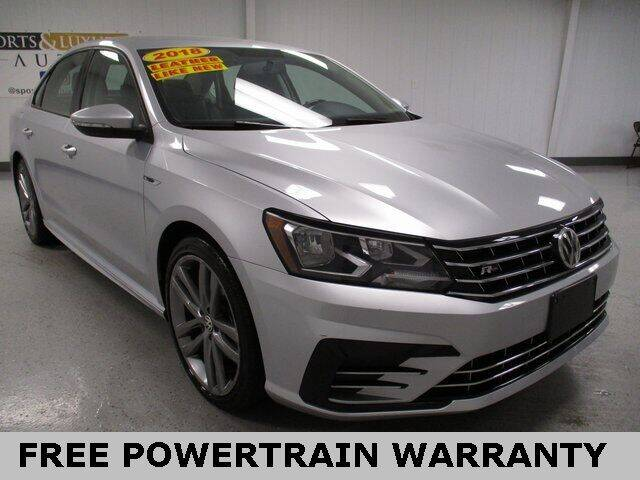 2018 Volkswagen Passat for sale at Sports & Luxury Auto in Blue Springs MO