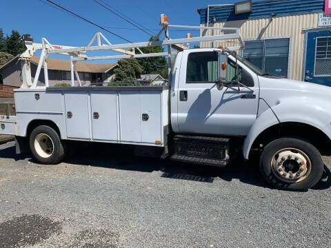 2012 Ford F-650 for sale at DirtWorx Equipment - Trucks in Woodland WA