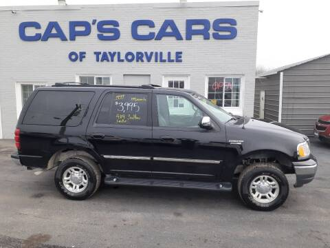 1999 Ford Expedition for sale at Caps Cars Of Taylorville in Taylorville IL