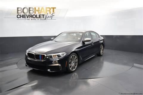 2018 BMW 5 Series for sale at BOB HART CHEVROLET in Vinita OK