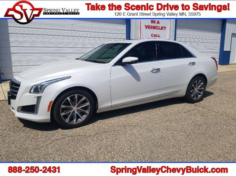 2016 Cadillac CTS for sale at Spring Valley Chevrolet Buick in Spring Valley MN