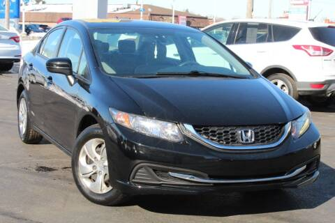 2014 Honda Civic for sale at Dynamics Auto Sale in Highland IN