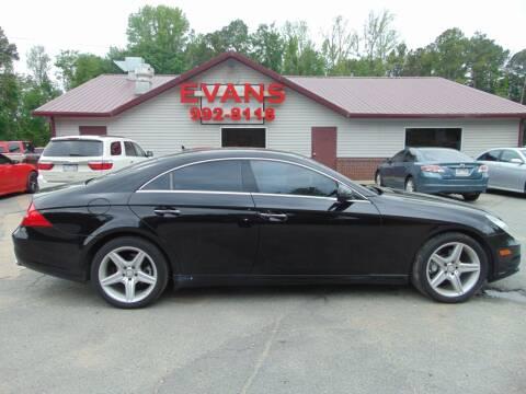2011 Mercedes-Benz CLS for sale at Evans Motors Inc in Little Rock AR