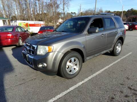 2011 Ford Escape for sale at Creech Auto Sales in Garner NC