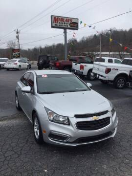 2015 Chevrolet Cruze for sale at MARLAR AUTO MART SOUTH in Oneida TN