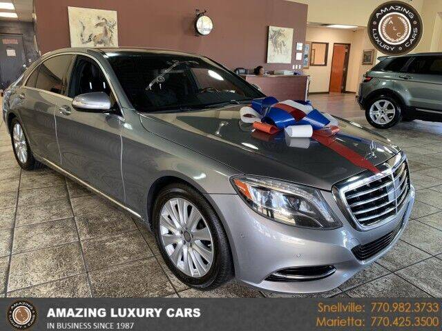 2015 Mercedes-Benz S-Class for sale at Amazing Luxury Cars in Snellville GA