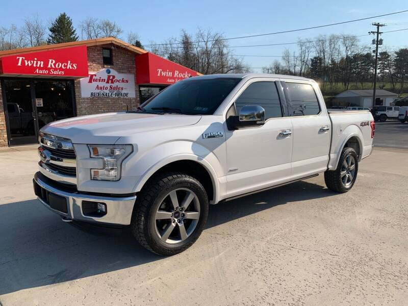 2016 Ford F-150 for sale at Twin Rocks Auto Sales LLC in Uniontown PA