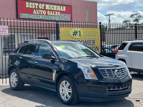 2013 Cadillac SRX for sale at Best of Michigan Auto Sales in Detroit MI