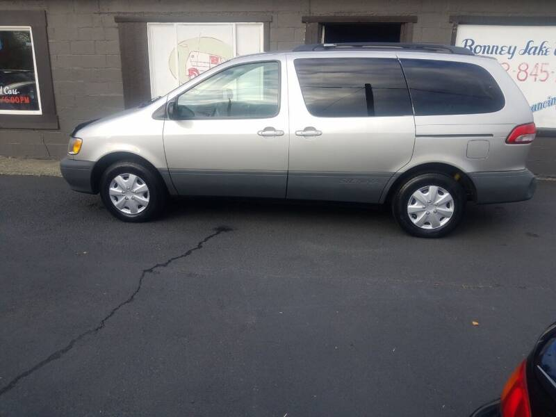 2002 Toyota Sienna for sale at Bonney Lake Used Cars in Puyallup WA