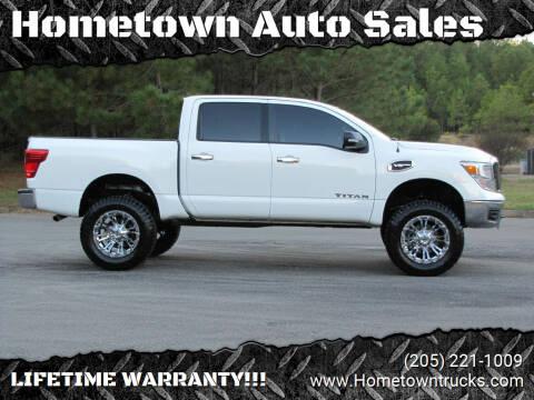 2017 Nissan Titan for sale at Hometown Auto Sales - Trucks in Jasper AL
