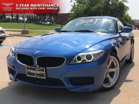 2016 BMW Z4 for sale at European Motors Inc in Plano TX