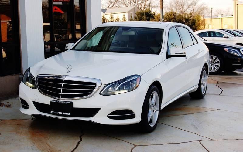 2014 Mercedes-Benz E-Class for sale at Avi Auto Sales Inc in Magnolia NJ