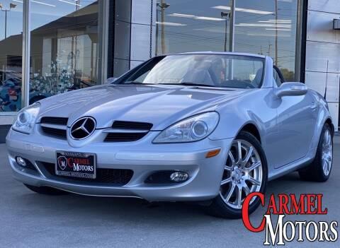 2005 Mercedes-Benz SLK for sale at Carmel Motors in Indianapolis IN