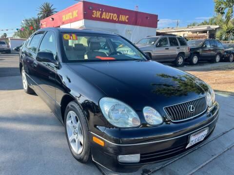 2001 Lexus GS 300 for sale at 3K Auto in Escondido CA
