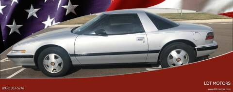 1988 Buick Reatta for sale at LDT MOTORS in Amarillo TX