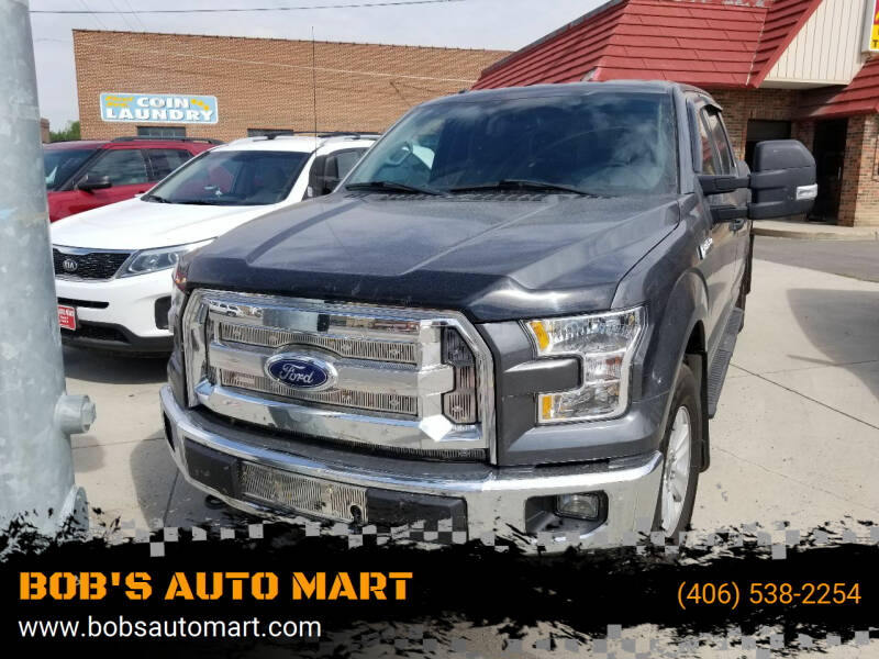 2015 Ford F-150 for sale at BOB'S AUTO MART in Lewistown MT