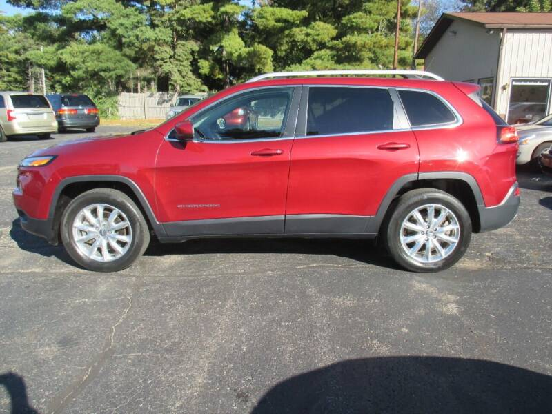 2015 Jeep Cherokee for sale at Home Street Auto Sales in Mishawaka IN
