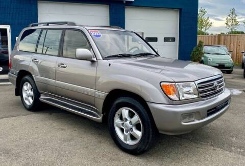 2003 Toyota Land Cruiser for sale at Saugus Auto Mall in Saugus MA