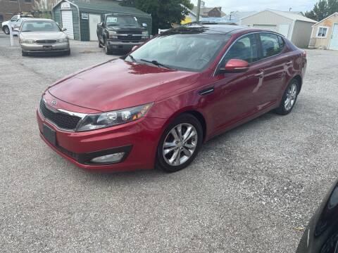 2012 Kia Optima for sale at Integrity Auto Sales in Brownsburg IN