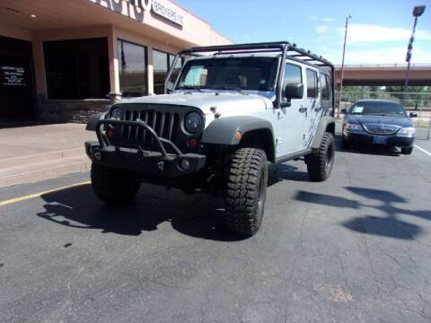 2012 Jeep Wrangler Unlimited for sale at Lakeside Auto Brokers Inc. in Colorado Springs CO