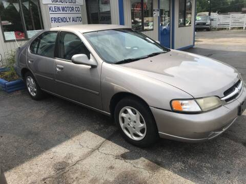 1999 Nissan Altima for sale at Klein on Vine in Cincinnati OH