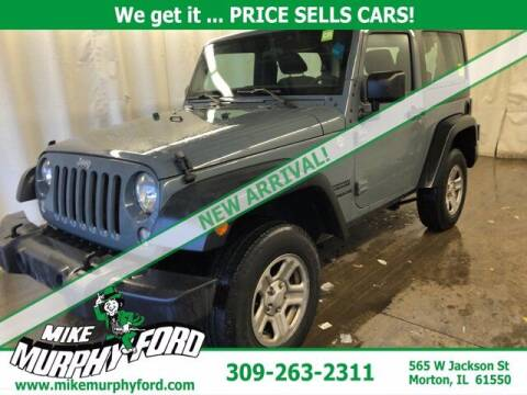 2015 Jeep Wrangler for sale at Mike Murphy Ford in Morton IL