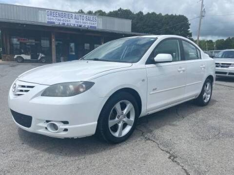 2006 Mazda MAZDA3 for sale at Greenbrier Auto Sales in Greenbrier AR