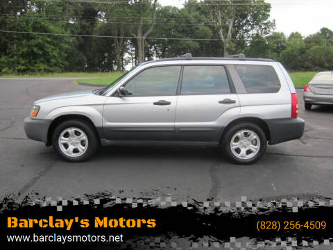 2005 Subaru Forester for sale at Barclay's Motors in Conover NC