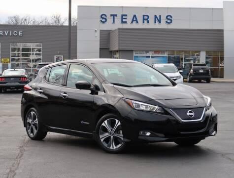 2018 Nissan LEAF for sale at Stearns Ford in Burlington NC