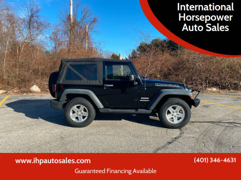 2013 Jeep Wrangler for sale at International Horsepower Auto Sales in Warwick RI