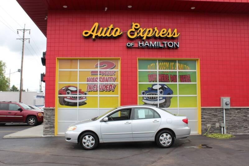2006 Toyota Corolla for sale at AUTO EXPRESS OF HAMILTON LLC in Hamilton OH