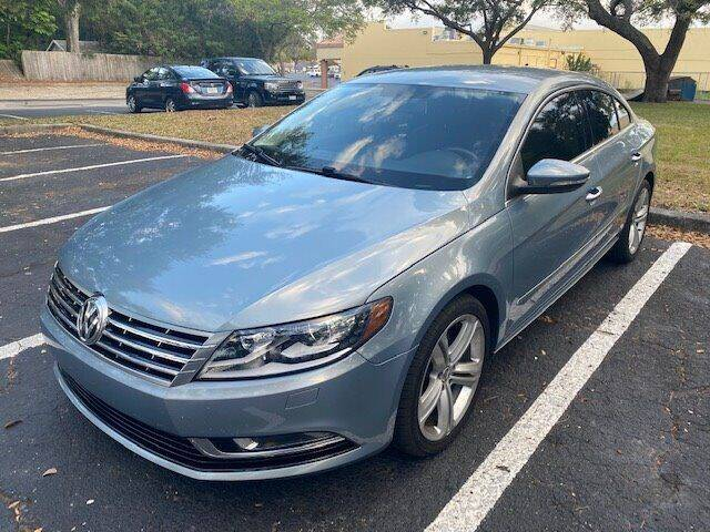 2013 Volkswagen CC for sale at Florida Prestige Collection in St Petersburg FL