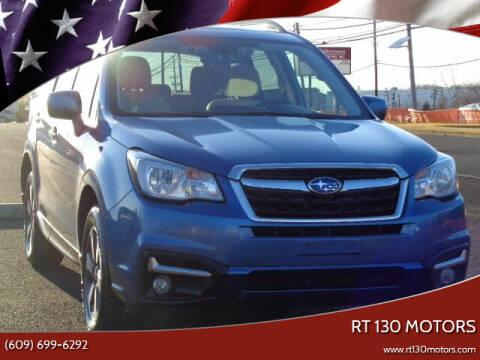 2018 Subaru Forester for sale at RT 130 Motors in Burlington NJ