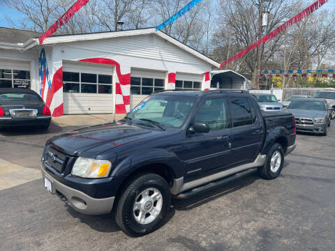 2001 Ford Explorer Sport Trac for sale at Hensley Auto Group in Middletown OH